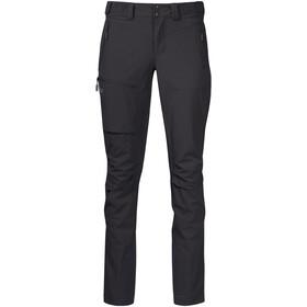 Bergans Breheimen Pantalones Softshell Mujer, solid charcoal/solid dark grey